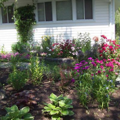 Flowering Garden Landscape Design Flower Gardens by European Garden Design Calgary