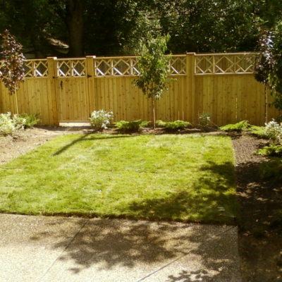 Decorative Wooden Fence Decks and Fences by European Garden Design Calgary