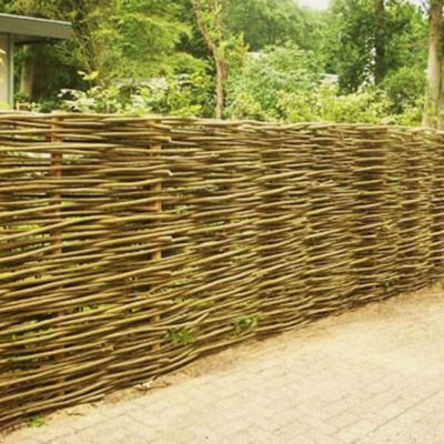 Wattle Fence by European Garden Design Calgary