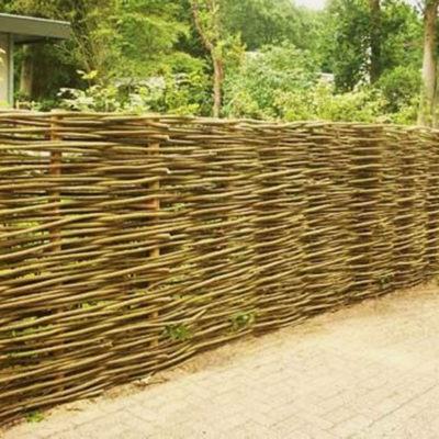 Wattle Fence by European Garden Design Calgary