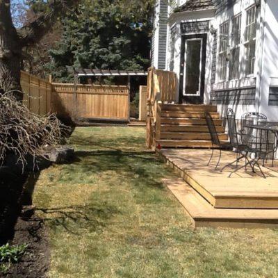 fence deck 2 Decks and Fences by European Garden Design Calgary